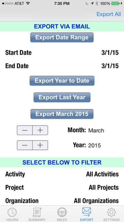 HourLink - Time Tracking, Timesheet & Billing with GPS & Mileage Expense screenshot-4