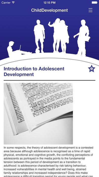 Understanding Child Development for 13-18 years screenshot four
