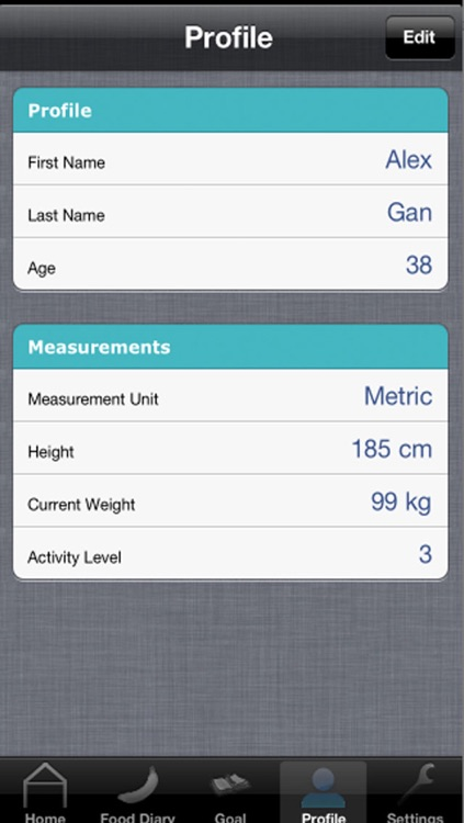 Food Diary - Best Weight Loss Management Tool