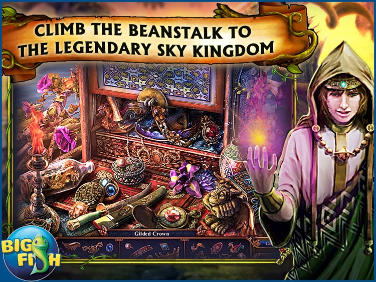 Dark Parables: Jack and the Sky Kingdom HD - A Hidden Object Fairy Tale