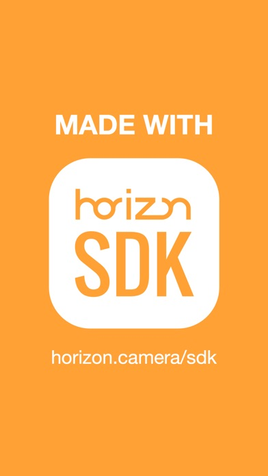 Horizon Camera Screenshot
