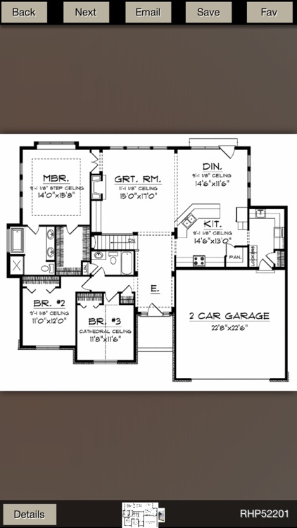 Ranch House Plans Gallery screenshot-4