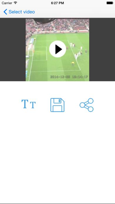 Camara de Video con Fecha y HoraCaptura de pantalla de4