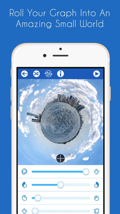 RollWorld - Tiny Planet Photos And More Screenshot