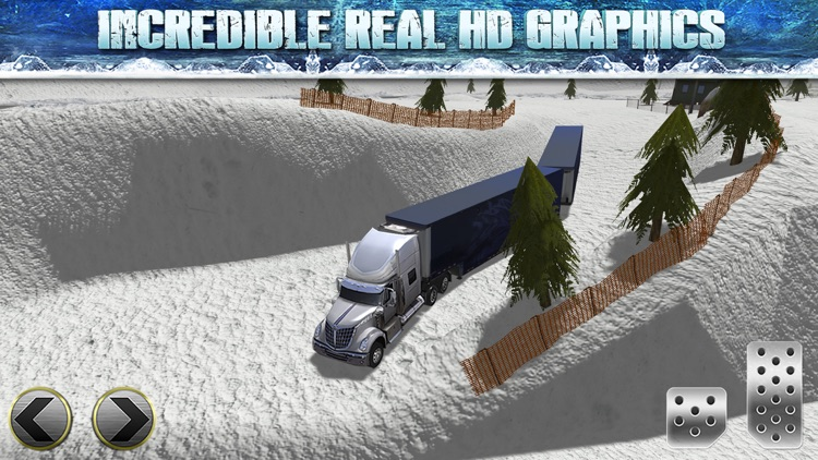 Truck Parking Simulator - Ice Road Truckers Edition screenshot-3
