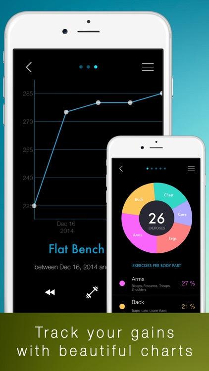Fititude - Cardio, Workout, Exercise tracker and full log with music player for fitness and training screenshot-3