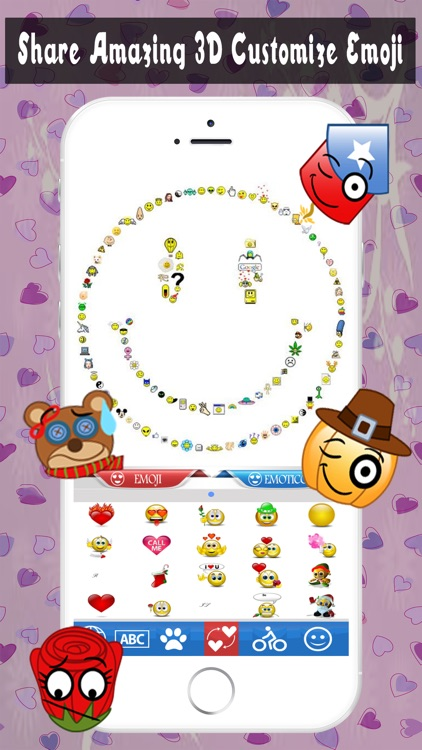 Stickers Emoji Keyboard for WhatsApp - Emoji Keyboard Pop Art & Emoticon Sticker Icon screenshot-4