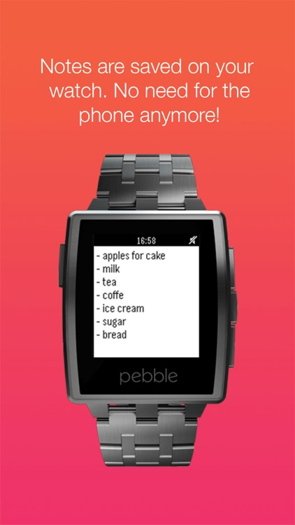 Notes for Pebble screenshot-4