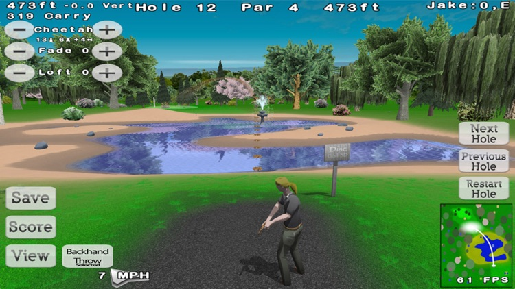 Disc Golf 3D Lite screenshot-1