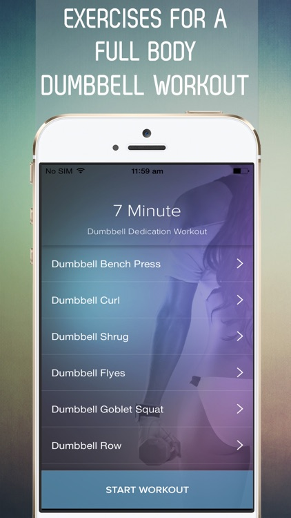 7 Minute Dumbbell Dedication Workout for an Hourglass Figure