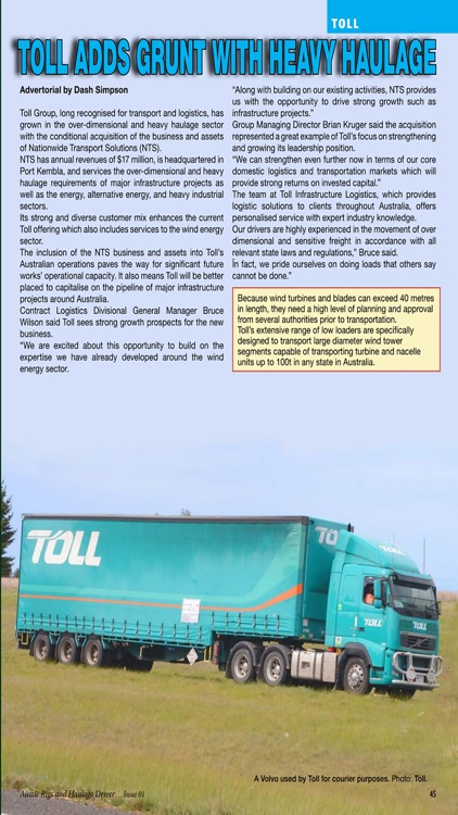 Aussie Rigs & Haulage Driver - The essential magazine for Australian long distance truck enthusiasts screenshot-4