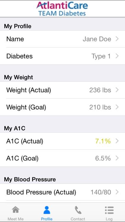 MEET ME @7 - Diabetes Self-management Tool for Patients and Caregivers screenshot-3