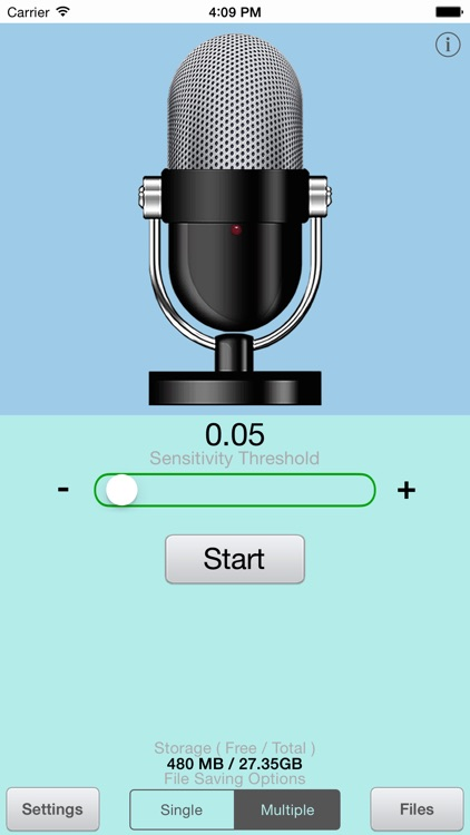 Voice-Activated Recorder Plus screenshot-1