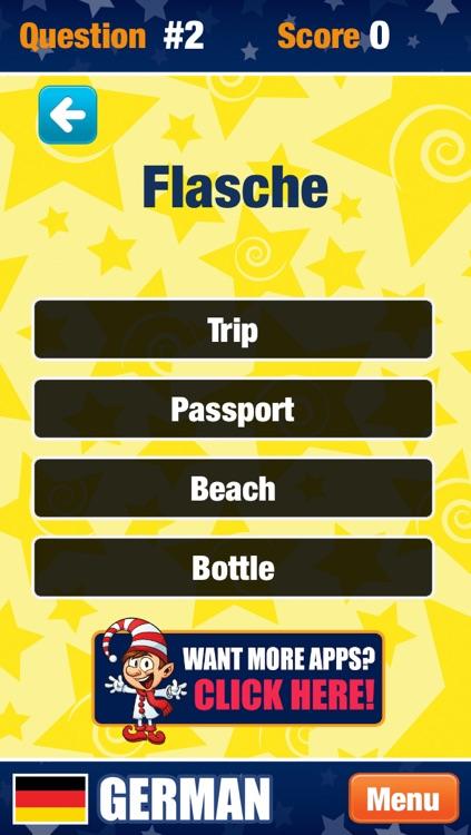My German - Learning New Words screenshot-4