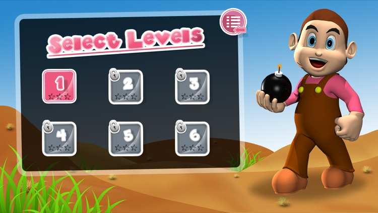 Bombuster Free Game for iPhone screenshot-3