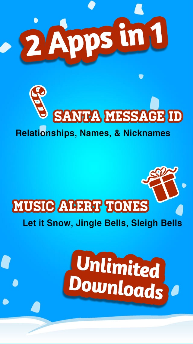 christmas text tones customize your new text tone with santa