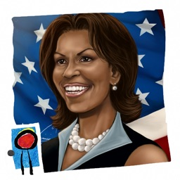 Female Force: Michelle Obama by Blue Water Comics