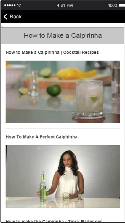 How to Make Cocktails - Easy Cocktail Recipes screenshot-3