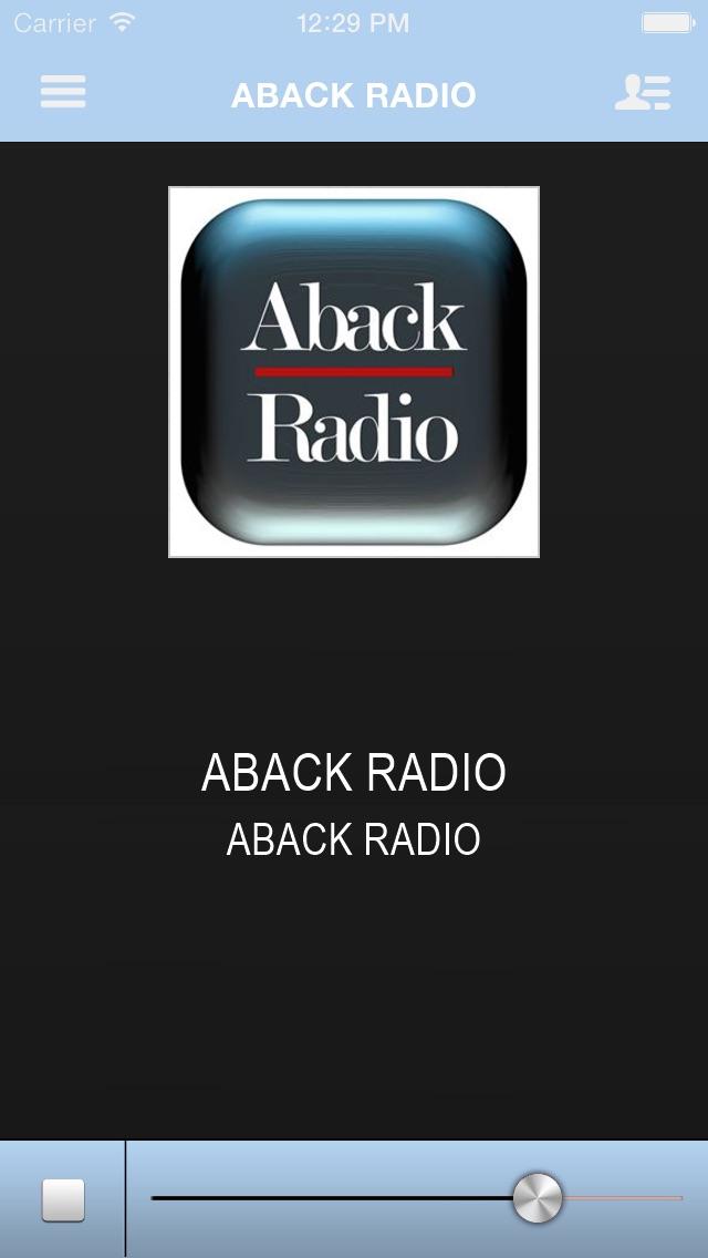 ABACK RADIO-0