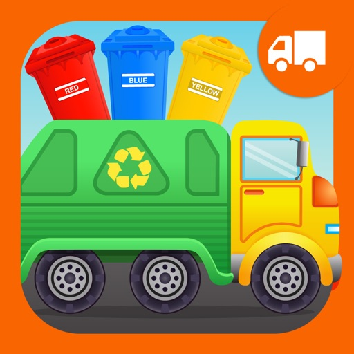 Colors Garbage Truck