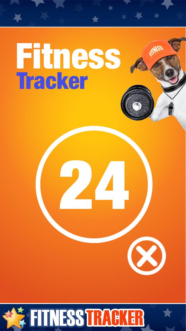 Fitness Tracker - Calculate your Jumps, Steps, Squatting etcCaptura de pantalla de1
