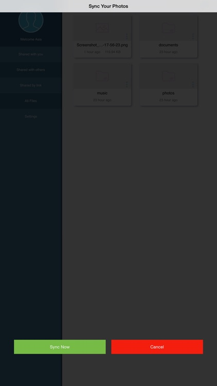 INFINITEVAULT - SYNC.SHARE.SECURELY screenshot-3