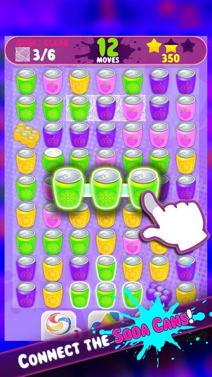 Soda Rocket - Match-3 Puzzle Game