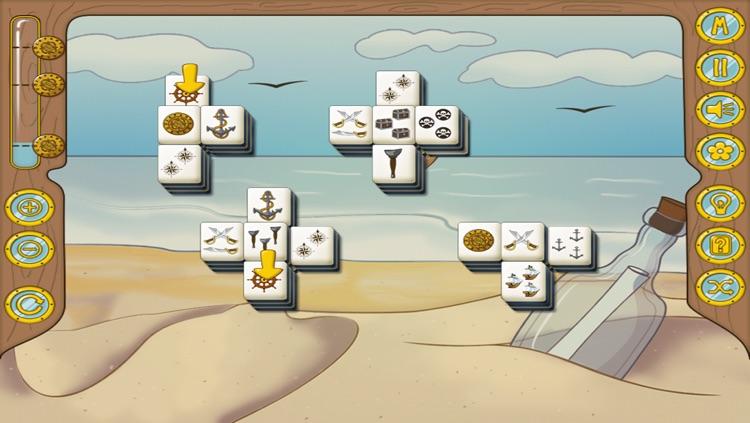 Pirate Mahjong Free screenshot-3