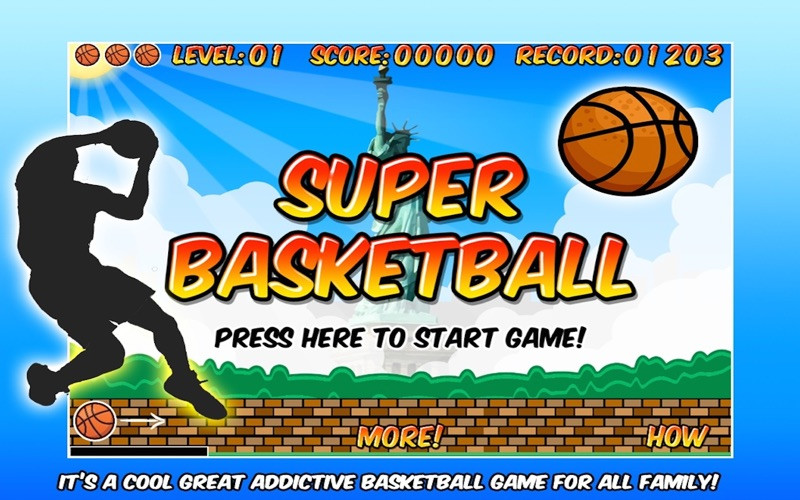 Super Basketball screenshot 1