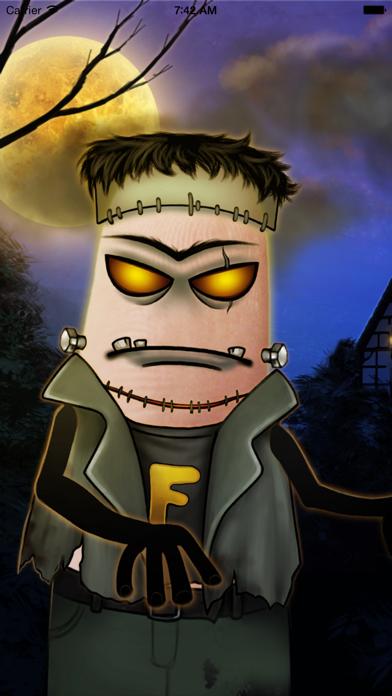 Dedos Horror - Crear caras de horror sobre los dedosCaptura de pantalla de1