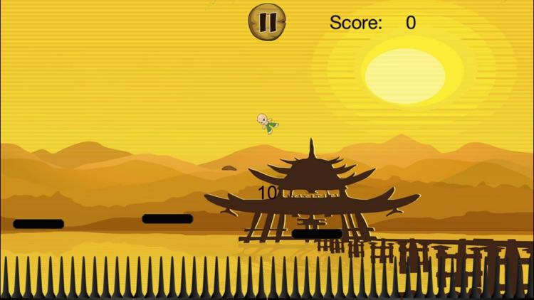 A Tiny Karate Master FREE - Epic Jumping Warrior screenshot-4