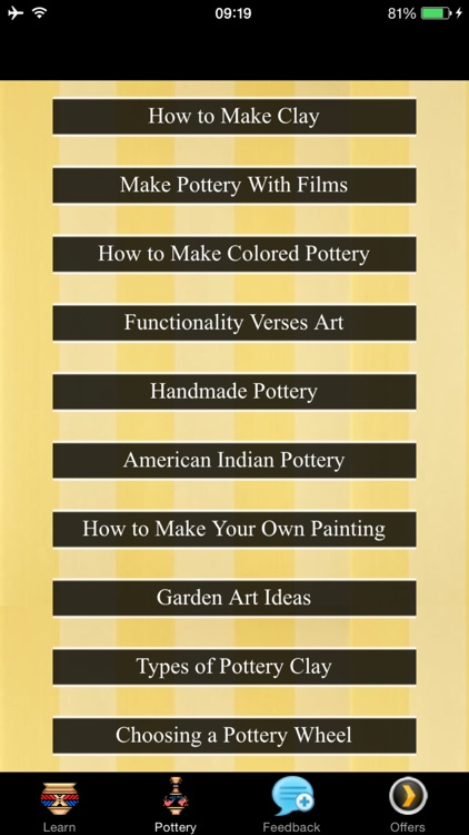 How To Make Pottery - Garden Art screenshot-3