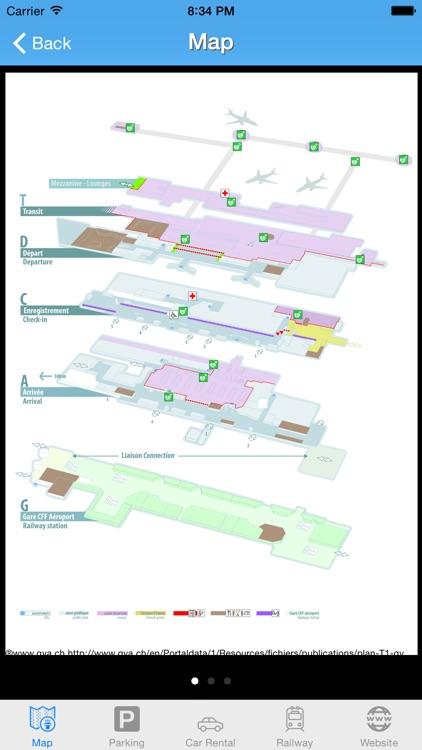 Swiss Airport - iPlane Flight Information screenshot-3
