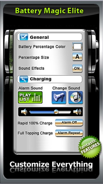 Battery : Battery Power Battery Charge Battery Life Battery Saver - The All in 1 Battery App Battery Magic Elite! screenshot-3