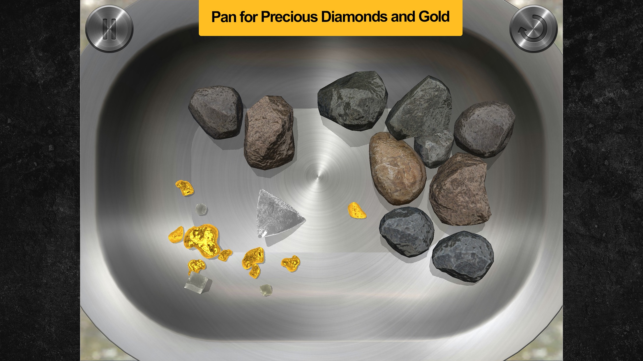 Prospectors - Nature's Slot Machine of Diamonds & Gold Treasure Free for iPad and iPhone Screenshot