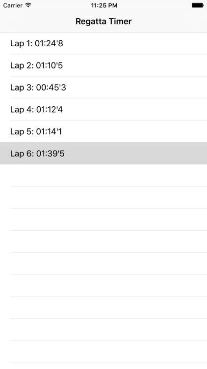 Race Regatta Timer