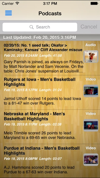 College Basketball Radio screenshot-4