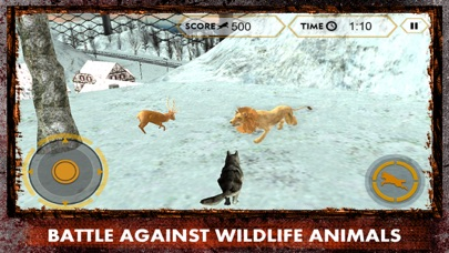 Wild Wolf Attack Simulator 3D – Live life of an alpha and