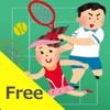 二人でできるゲーム 二人テニス(無料版)