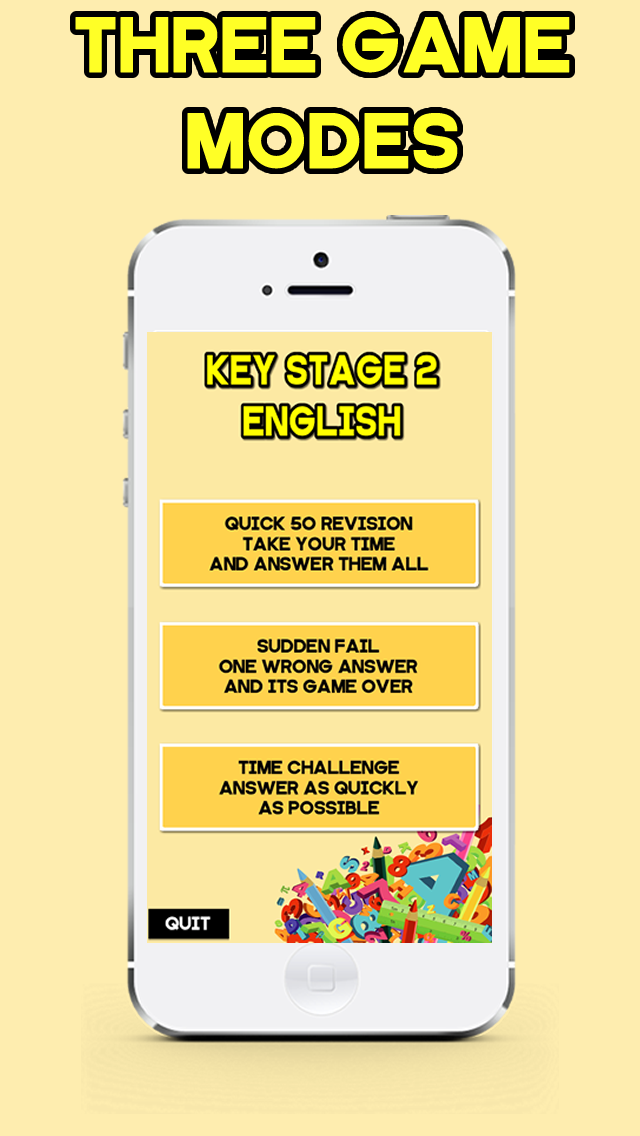 KS2 English Revision Quiz (for ages 7 - 11) screenshot two