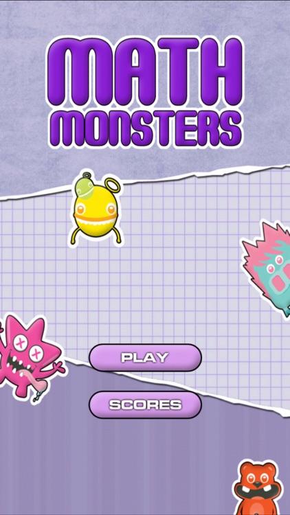 Math Monsters - Bingo screenshot-0