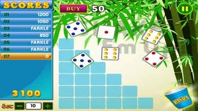 10,000 Addict Wild Panda Journey Pop Farkle Dice Casino Games Free screenshot three