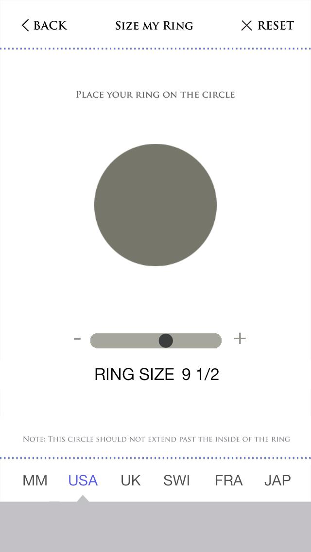 サイズあなたのリングのスクリーンショット2
