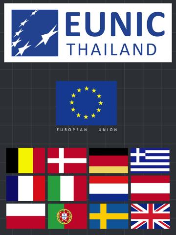 European Heritage Map and Cultural Calendar of Thailand-ipad-0