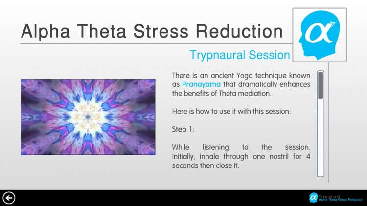 Trypnaural Alpha Theta Stress Reduction