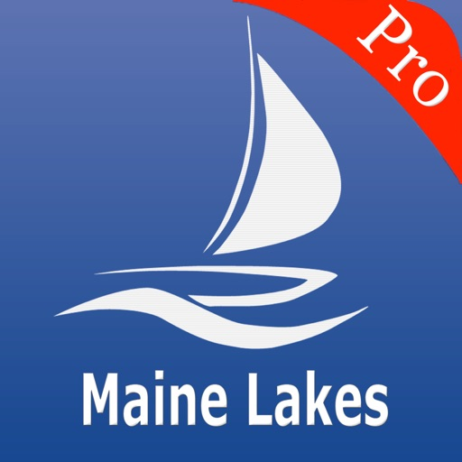 Maine Lakes Nautical charts pro