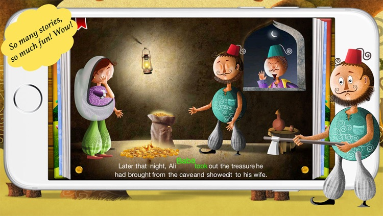 Alibaba and The Forty Thieves by Story Time for Kids screenshot-3