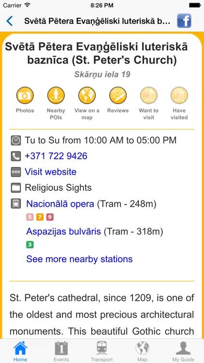 Riga Travel Guide Offline screenshot-3