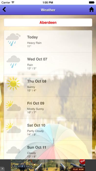 Weather 10 Days screenshot three