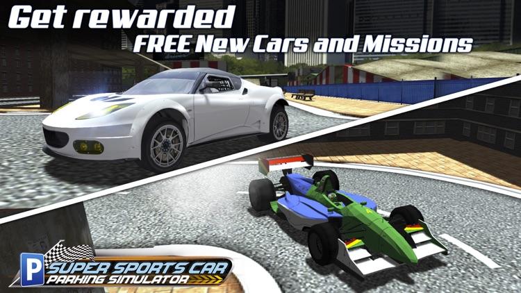 Super Sports Car Parking Simulator - Real Driving Test Sim Racing Games screenshot-4